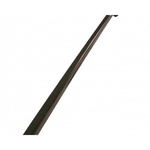 RVS schoenlepel - 58 cm zwart