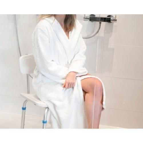 Atlantis Bathroomsolutions Verstelbare douchestoel met rugsteun