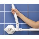 Mobeli Handrail met verstelbare hoek - verstelbaar 340 - 465 mm