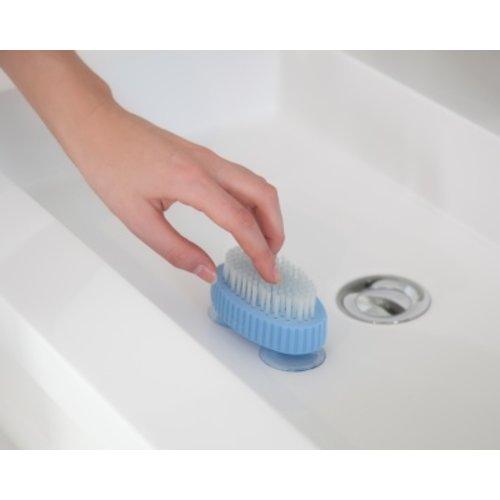 Atlantis Bathroomsolutions Nagelborstel op zuignappen
