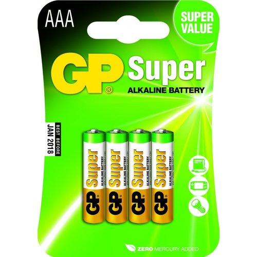 GP GP-AAA blister batterijen 4st