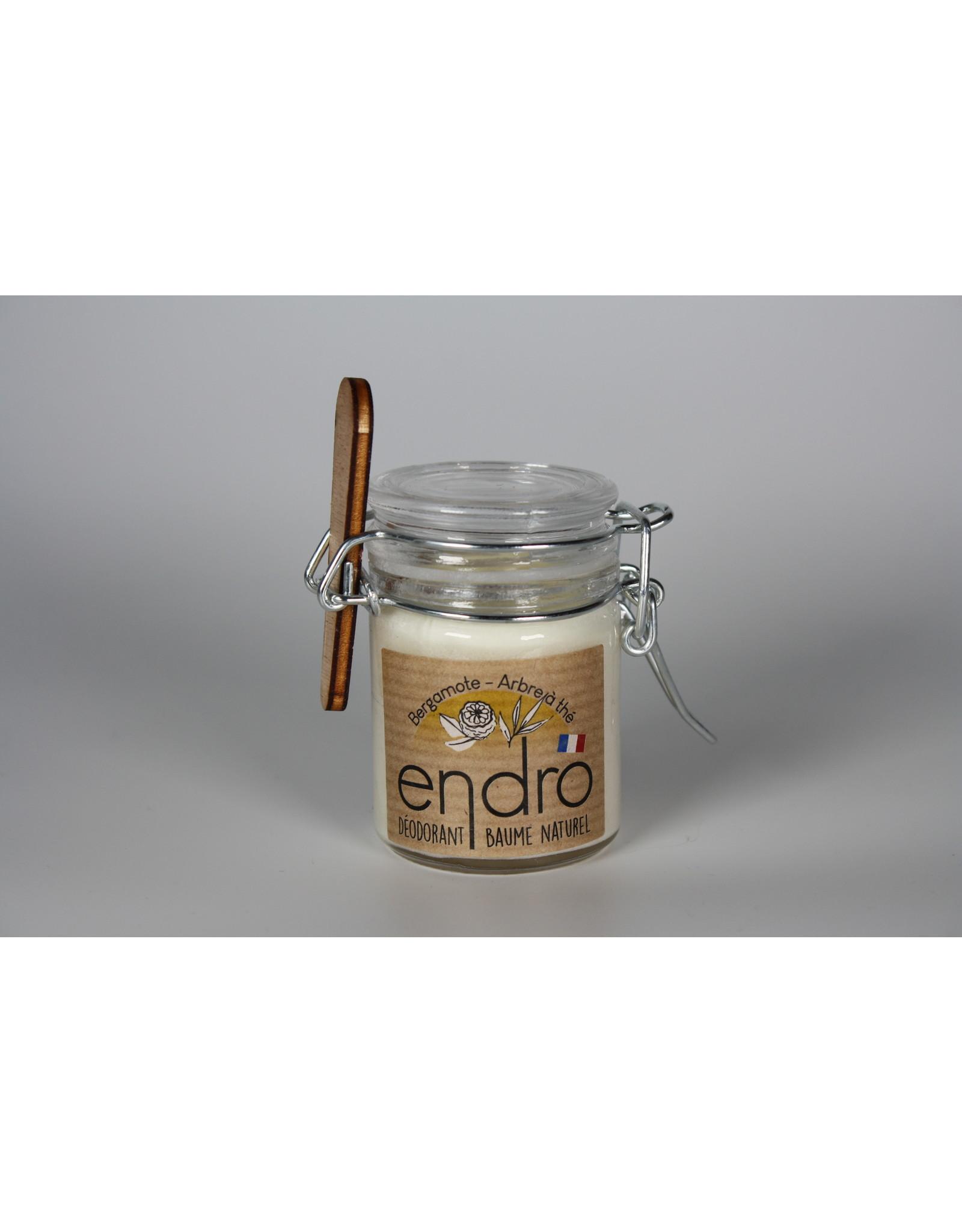 ENDRO Déodorant baume Bergamote/Arbre à thé