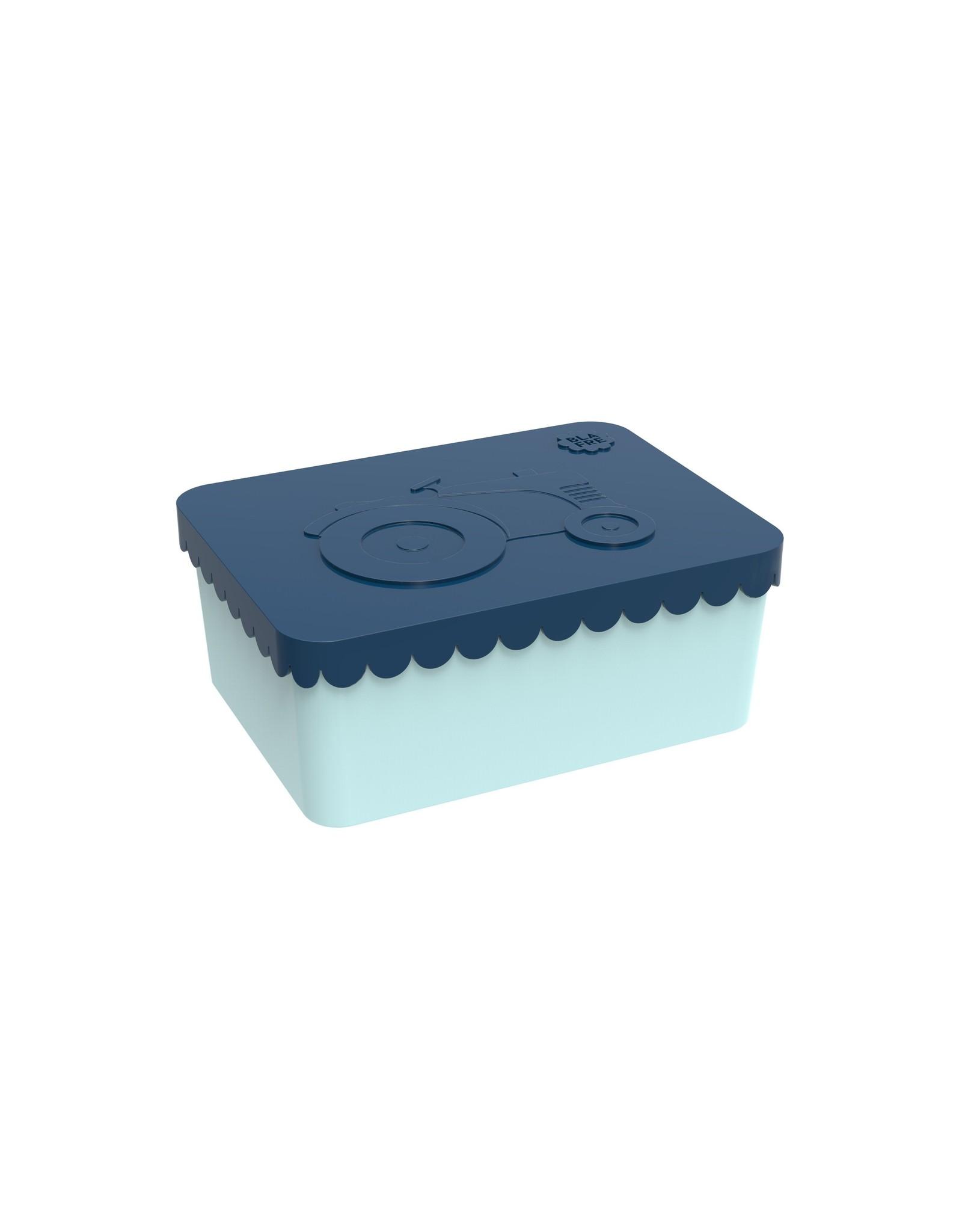 BLAFRE Blafre boîte à lunch 1 compartiment tracteur bleu marine