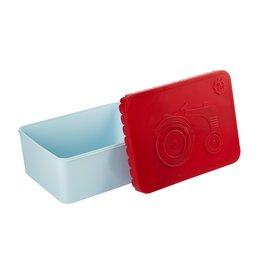 BLAFRE Blafre boîte à lunch 1 compartiment tracteur rouge+bleu clair
