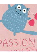 La Queue Du Chat T-shirt rose passion cerises- LQDC