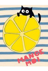 La Queue Du Chat Marinière rayée mange moi- LQDC