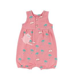 La Queue Du Chat Combi bébé rose blush - LQDC