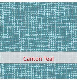 FLAX & STITCH Mouchoirs/Paquet: 20x20 x 5 - Canton Teal