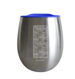 GASPAJOE Gobelet COSY bleu isotherme inox