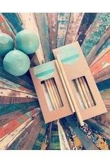 BAMBLUE PACK  Bamblue pailles longues en bambou