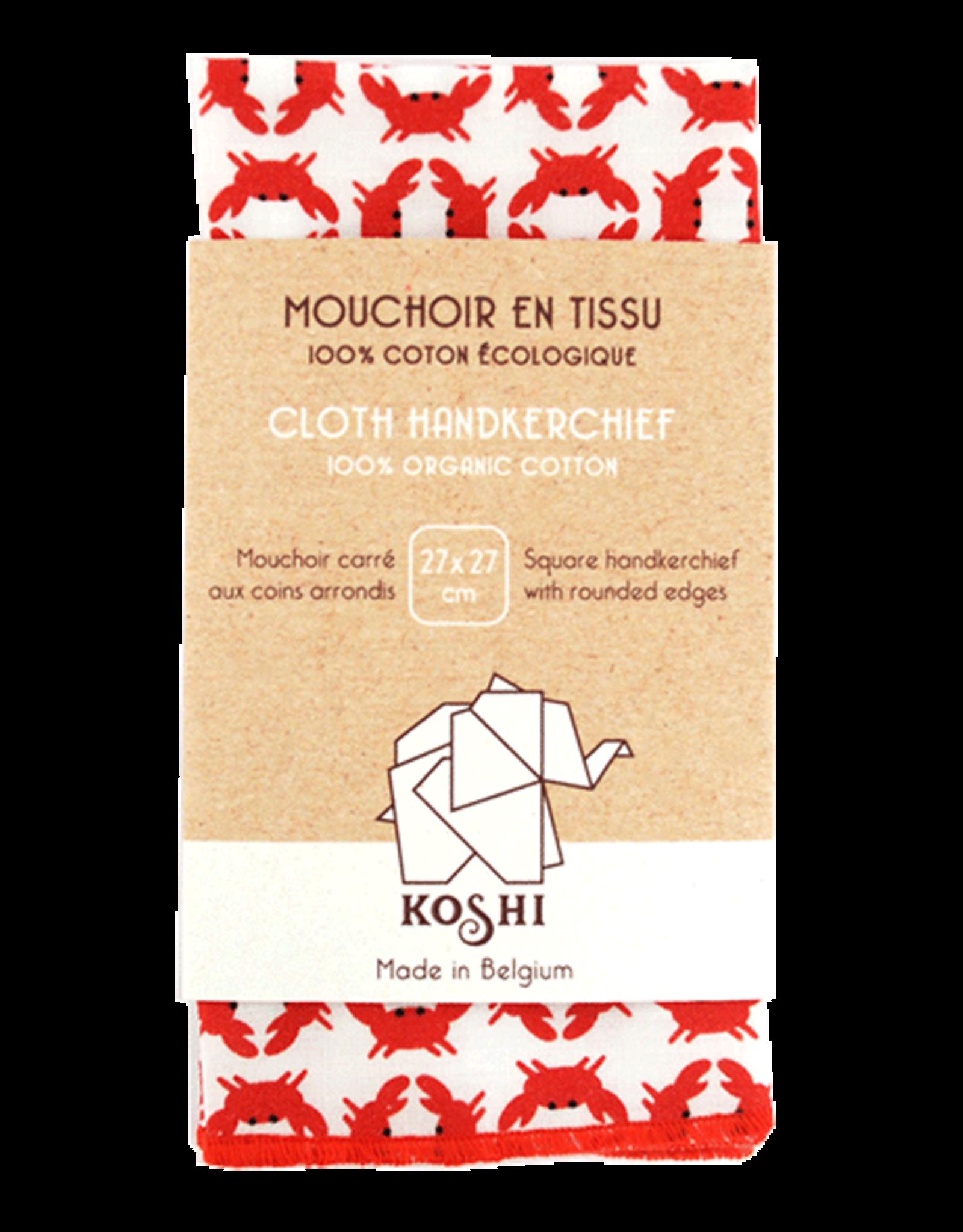 Koshi Mouchoir Koshi crabes
