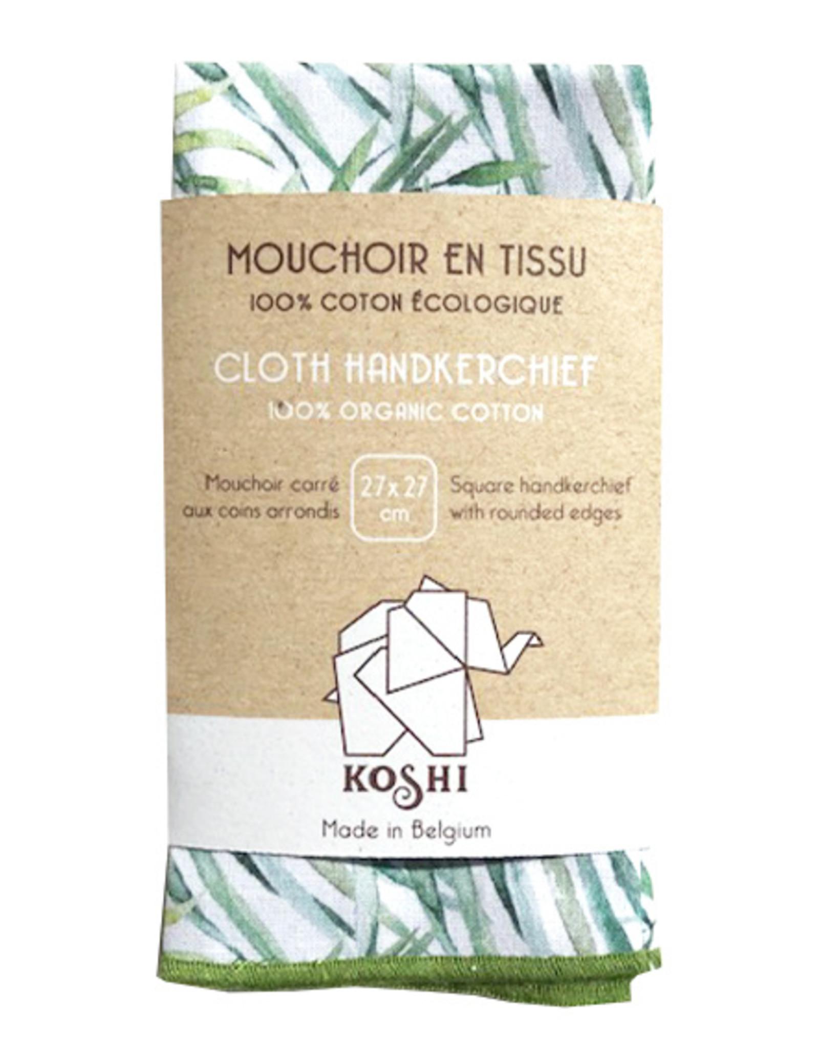 Koshi Mouchoir Koshi palmier