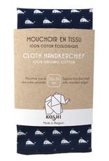Koshi Grand mouchoir baleine