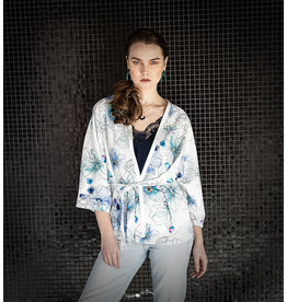 Louisa Jade kimono fleuri Louisa Jade