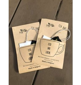 Bag To Green infusette à thé en tissu