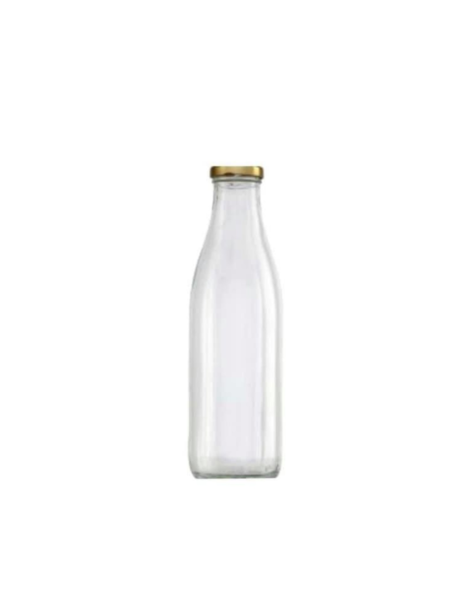 woody bouteille en verre et couvert- 1L