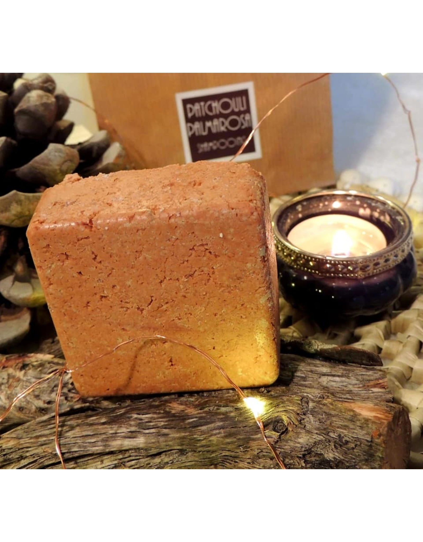 K'rolo Cosmetics Shampoing solide Patchouli-Palmarosa