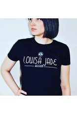 T-shirt noir M Louisa Jade