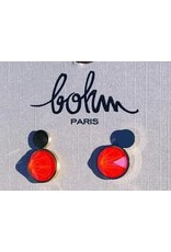 Bohm Boucles d'oreilles orange fluo