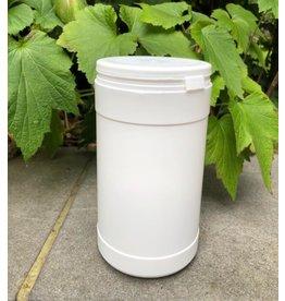 Pot rond en canne à sucre 1L avec couvercle