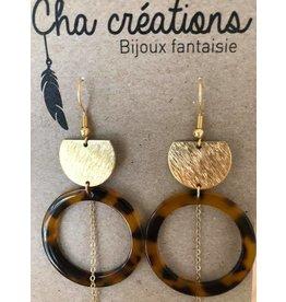 CHA CREATIONS BO chaînette et résine