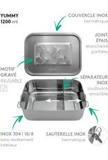 GASPAJOE Yummy, lunch box inox 1200 ml