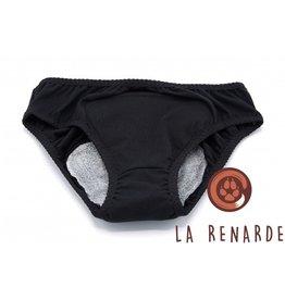 La Renarde culotte menstruelle noire