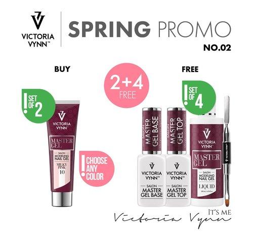 Victoria Vynn  Victoria Vynn Master Gel Bundel 2 + 4 | Bestel 2 kleuren en ontvang 4 gratis producten | Zie omschrijving