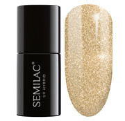Semilac Semilac Gellak | 037 Gold Disco | 7 ml. | Goud Glitter