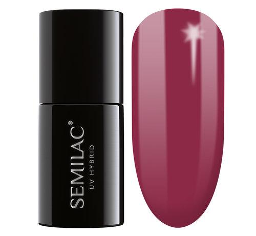 Semilac Semilac Gellak | Gelpolish Soak Off | 068 Delicate Red  | 7 ml. | Rood |