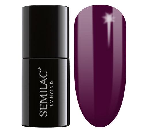 Semilac Semilac Gellak | Gelpolish Soak Off | 083 Burgundy Wine  | 7 ml. | Rood |