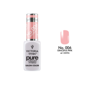 Victoria Vynn  Gellak Victoria Vynn™ Gel Nagellak - Gel Polish - Pure Creamy Hybrid  - 8 ml - Graceful Pink   - 006 - Perzik