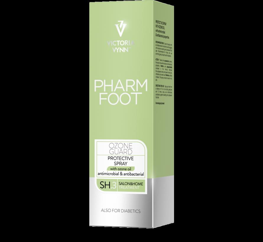 Pharm Foot Ozone Guard   Voetspray tegen onaangename geur van voeten 150 ml.