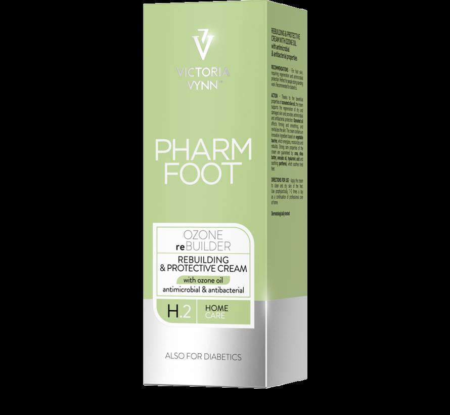 Pharm FootOzone reBuilder   Crème voor de verzorging van de voethuid die vatbaar is voor mycose 75 ml.