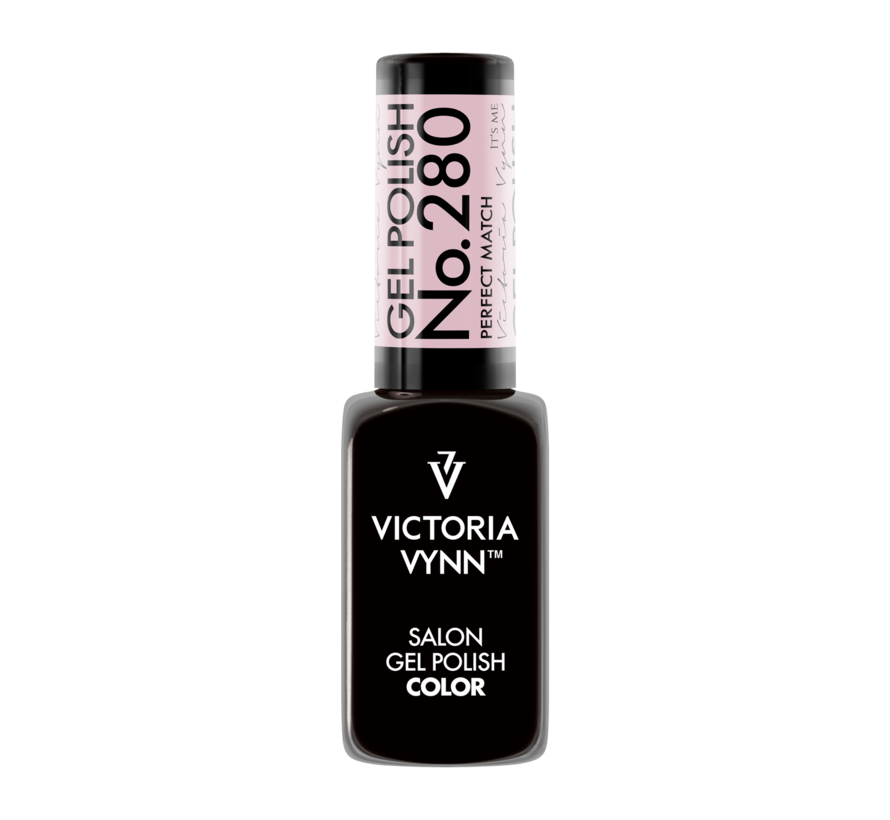 Salon Gellak Victoria Vynn   280   Poeder Roze   Perfect Match   8 ml