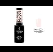 Victoria Vynn  Gellak Victoria Vynn™ Gel Nagellak - Salon Gel Polish Color 003 - 8 ml. - Perfectly Nude