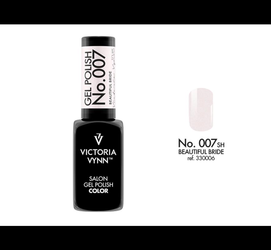 Gellak Victoria Vynn™ Gel Nagellak - Salon Gel Polish Color 007 - 8 ml. - Beautiful Bride