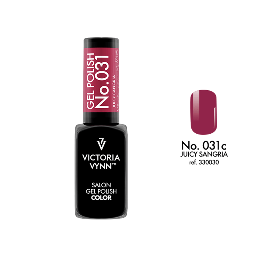 Gellak Victoria Vynn™ Gel Nagellak - Salon Gel Polish Color 031 - 8 ml. - Juicy Sangria