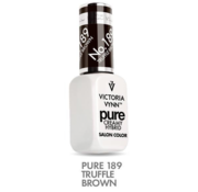 Victoria Vynn  Victoria Vyn Gellak   Gel Nagellak   189 Truffle Brown   8 ml.   Donkerbruin