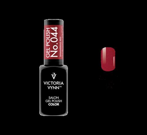 Victoria Vynn  Gellak Victoria Vynn™ Gel Nagellak - Salon Gel Polish Color 044 - 8 ml. - Shimmering Red