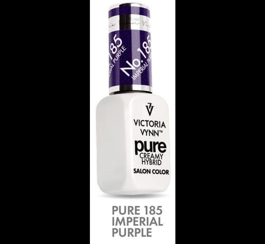Victoria Vyn Gellak | Gel Nagellak | 185 Imperial Purple | 8 ml. | Paars Shimmer