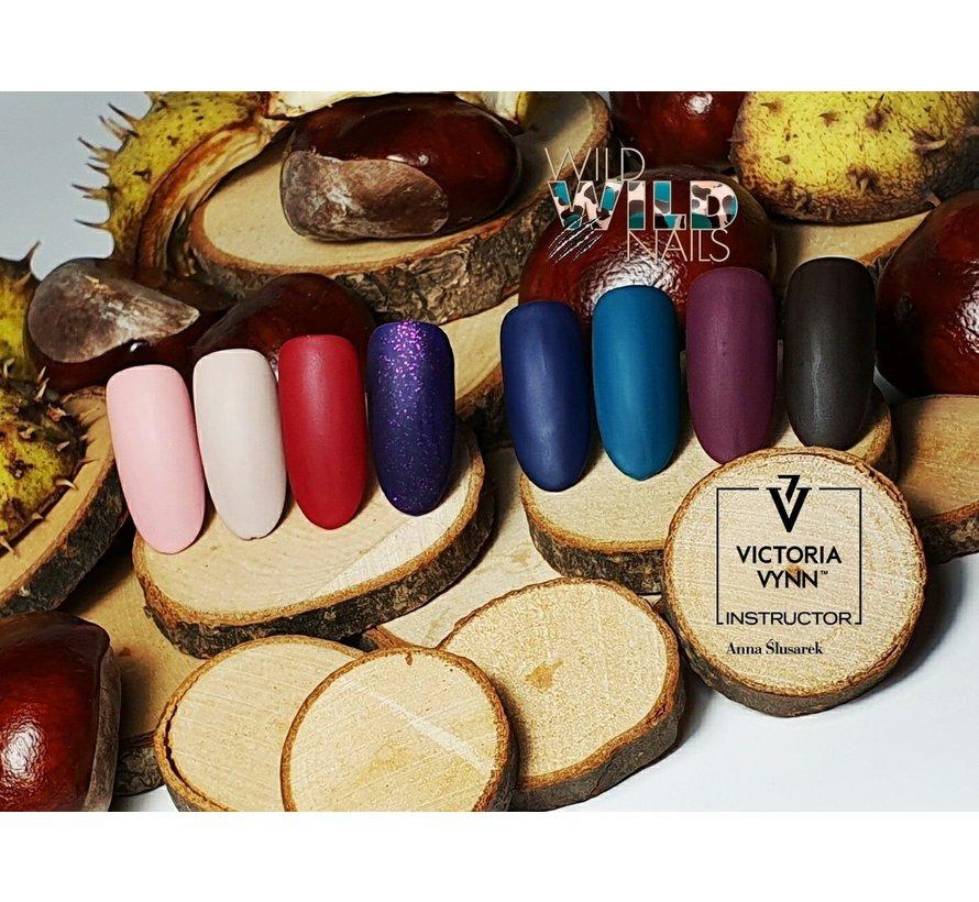 Victoria Vyn Gellak   Gel Nagellak   182 Soft Stone   8 ml.   Nude