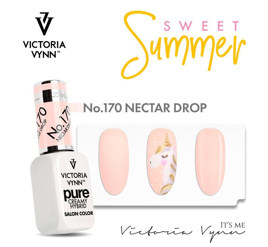 Victoria Vyn Gellak | Gel Nagellak | Pure Sweet Summer Collectie | 170 Nectar Drop | 8 ml. | Roze