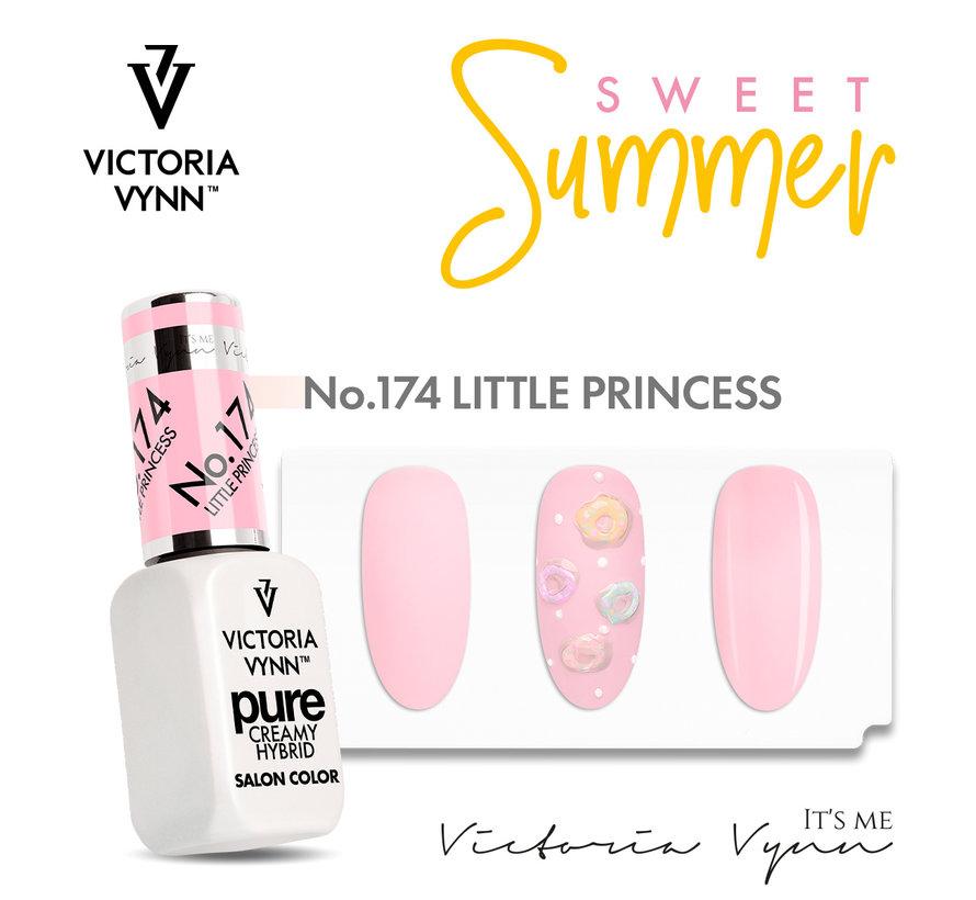 Victoria Vyn Gellak | Gel Nagellak | Pure Sweet Summer Collectie | 174 LITTLE Princess | 8 ml. | Roze