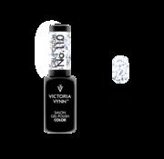 Victoria Vynn  Gellak Victoria Vynn™ Gel Nagellak - Salon Gel Polish Color 110 - 8 ml. - Silver Foil