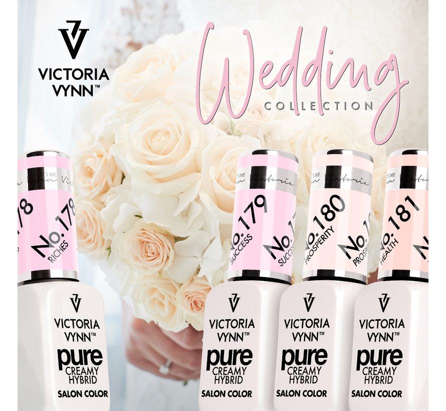 Victoria Vyn Gellak - Gel Nagellak - Pure Wedding Collectie - 181 Health - 8 ml. - Roze