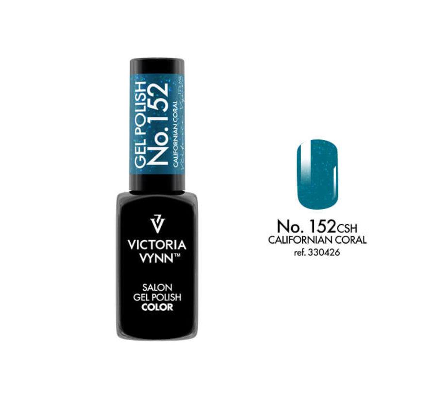 Gellak Victoria Vynn™ Gel Nagellak - Salon Gel Polish Color 152 - 8 ml. - California Coral