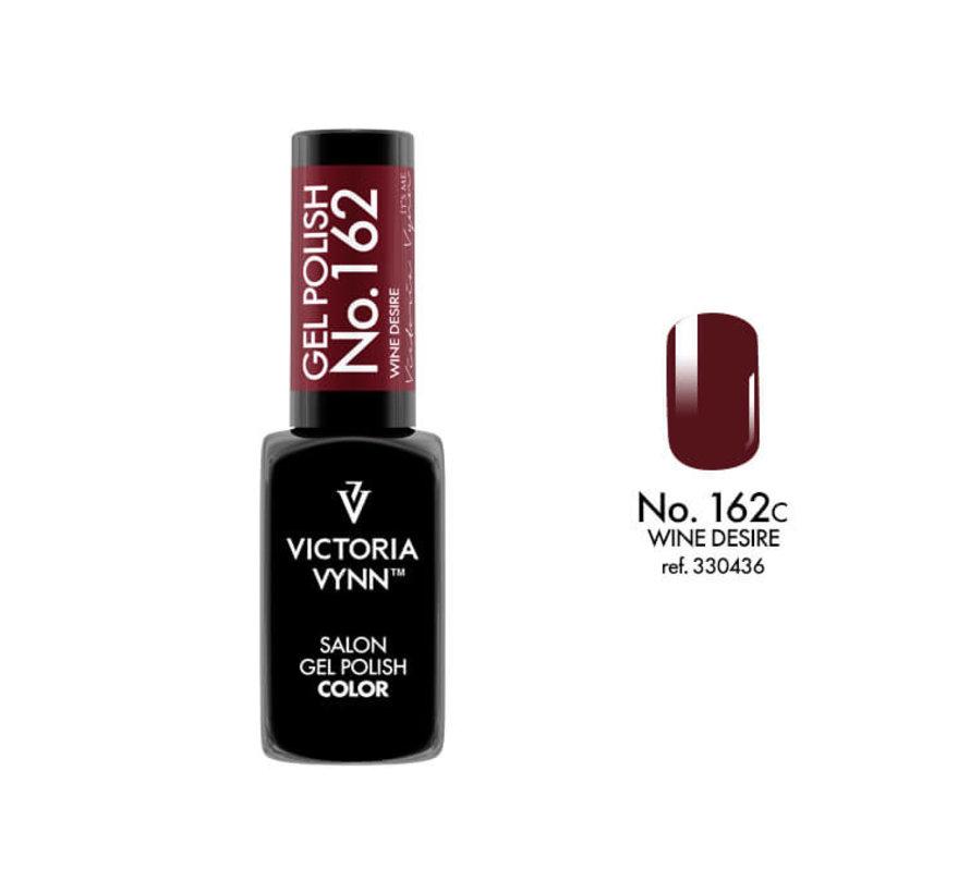 Gellak Victoria Vynn™ Gel Nagellak - Salon Gel Polish Color 162 - 8 ml. - Wine Desire