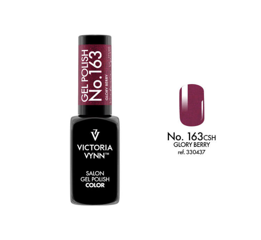 Gellak Victoria Vynn™ Gel Nagellak - Salon Gel Polish Color 163 - 8 ml. - Glory Berry