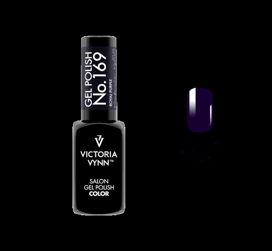 Gellak Victoria Vynn™ Gel Nagellak - Salon Gel Polish Color 169 - 8 ml. - Royal Purple
